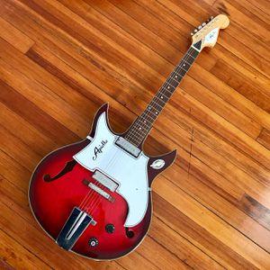 Vintage Apollo Hollowbody Guitar, Model 2256, MIJ, 1960s-70s for Sale in Norfolk, VA