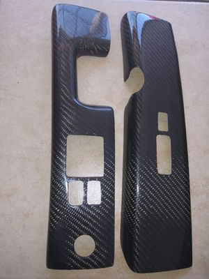 Carbon fiber Vents. bezer cover.Acura Rcx. year 02 96 for Sale in Escondido, CA