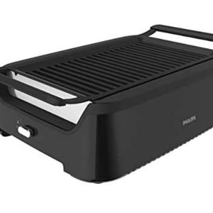 Philips Kitchen Appliances HD6371/94 Philips Smoke-less Indoor BBQ Grill, Avance Collection, 5, Black for Sale in Ladera Ranch, CA