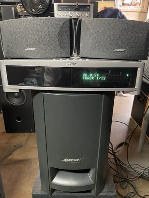 BOSE PS3-2-1 III POWERED SPEAKER SYSTEM WITH CD PLAYER AND AM/FM STEREO RADIO!!! for Sale in Covina, CA
