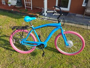 Custom Hampton cruiser ebike Electric beach bicycle for Sale in Clearwater, FL
