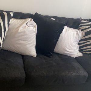 Black Couch for Sale in Atlanta, GA