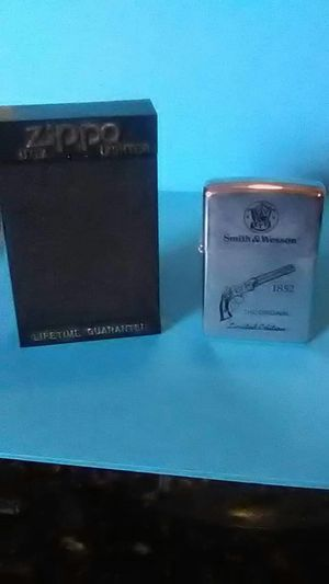 Zippo lighter, limited edition, Smith and Wesson for Sale in Saint Charles, MO