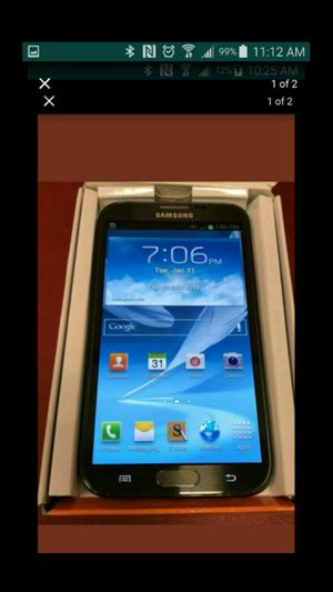 Galaxy note2 t.mobile unlocked perfect condition $110 for Sale in Washington, DC