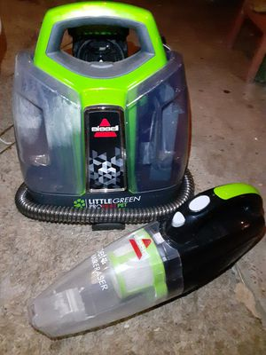 Bissel mini carpet cleaner and vacuum for Sale in Houston, TX