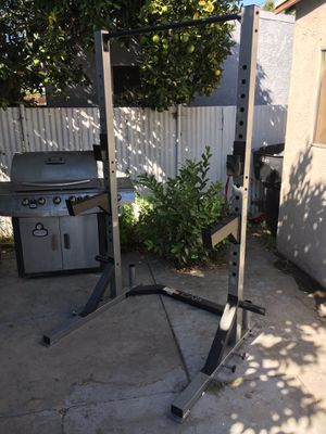 Cap Barbell Deluxe Power Rack mint condition for Sale in Bell Gardens, CA