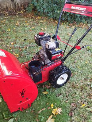 "Yard machine mtd 5.0 hp 22"" snowblower for Sale in Brockton, MA"