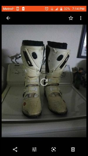 Motorcycle Boots Size 10.5 for Sale in Apple Valley, CA
