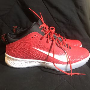 Mens Nike Force Zoom Trout 5 Turf Shoe AH3374-601 Size 14 Mike Trout Air for Sale in Delanco, NJ