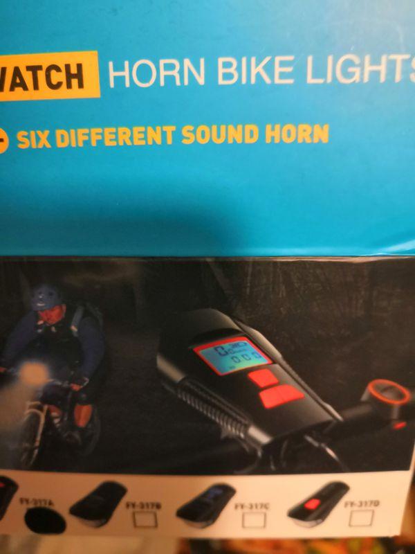 Horn bike light