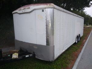 24-ft enclosed trailer first $4,500 takes it clean title for Sale in Fort Myers, FL