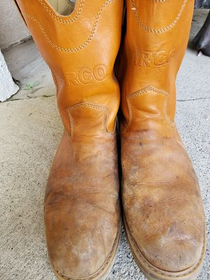 Work boots size 10 for Sale in Lake Elsinore, CA