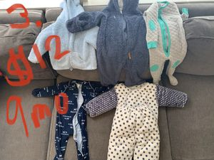 NEW MARKDOWN (25% off listed prices) Variety of fall/winter baby clothes! for Sale in Duvall, WA