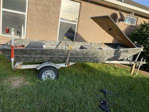 14' john boat for Sale in Riverview, FL