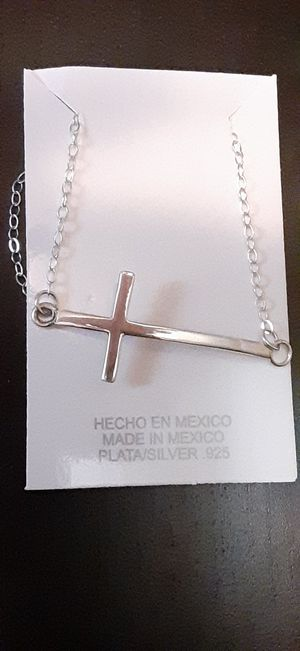 .925 sterling silver necklace for Sale in Lake Elsinore, CA
