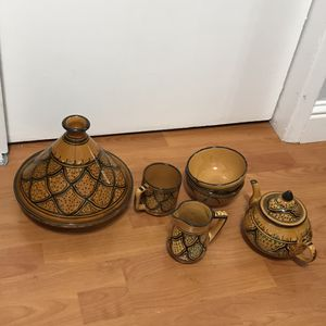 Tunisian Handmade pottery for Sale in San Jose, CA