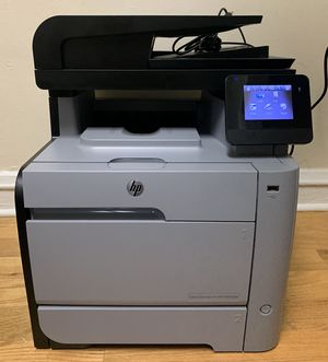 HP Color LaserJet Pro MFP M476dw Wireless All In One Printer (Print, Scan, Copy, Fax) for Sale in Chicago, IL