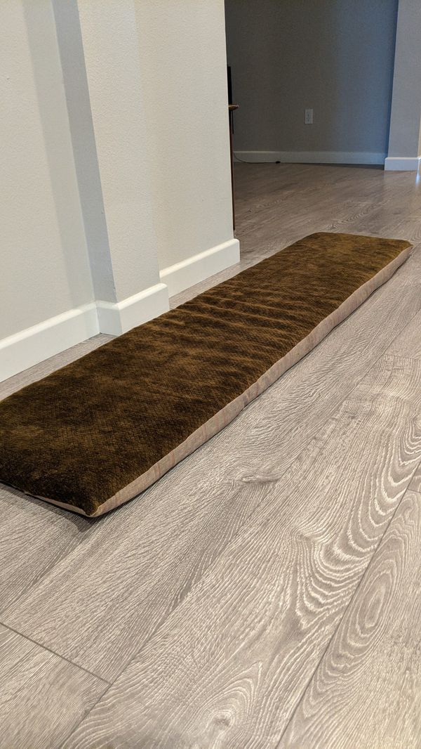 Foam pillow top for bench or dog