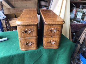 Antique sewing drawers $30 each for Sale in Tacoma, WA