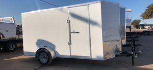 Enclosed trailer 6x12 w Rear ramp door for Sale in DeSoto, TX