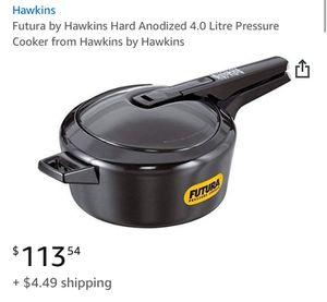 Futura 4.0 litre pressure cooker for Sale in Manassas, VA