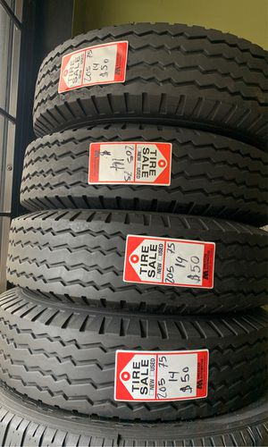 🔥 205/75/14 ST , used trailer tires 🔥 for Sale in Houston, TX