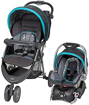 NEW Baby Trend EZ Ride 5 Travel System, Hounds Tooth for Sale in Sacramento, CA