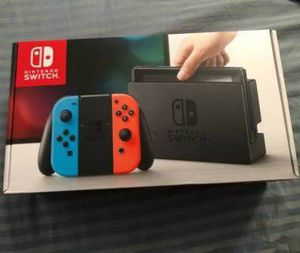 Nintendo Switch and 8 games for Sale in Philadelphia, PA