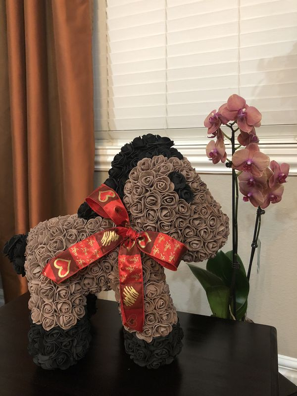Pony from roses