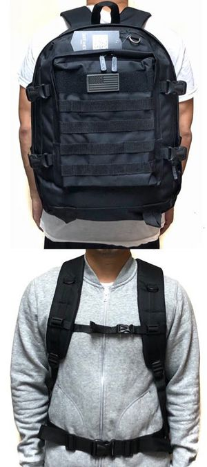 NEW! Large Tactical Molle Backpack For Traveling/Hiking/Biking/Skateboard/Fishing/Camping/Work/Outdoors for Sale in Torrance, CA