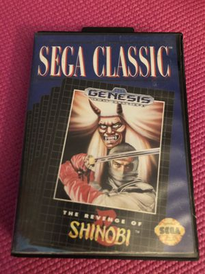 The Revenge Of Shinobi Sega Genesis In Case for Sale in Traverse City, MI