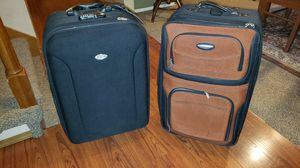 2 suitcases both for $10 for Sale in Covington, WA