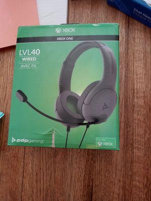Level 40 headphones xbox one for Sale in Phoenix, AZ