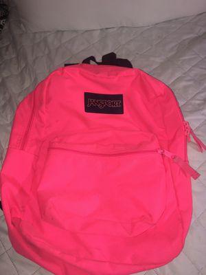 Hot pink jansport backpack for Sale in Gibsonton, FL