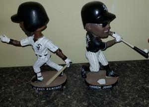 Alexei Ramirez and Andruw Jones White Sox bobbleheads for Sale in Mokena, IL