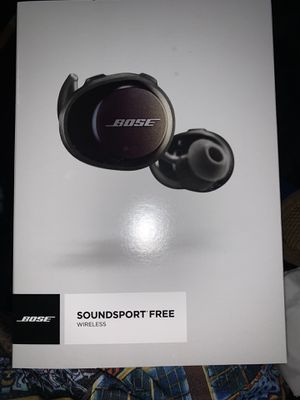 Bose Soundsport Free Wireless for Sale in Fort Washington, MD