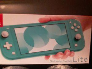 Nintendo switch lite (teal) for Sale in Auburn, WA