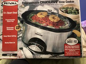 Rival crock pot smart pot for Sale in Mentor, OH