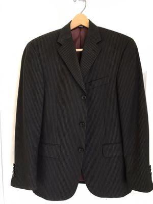 Men's Sport Coat by Angelo Rossi, Black stripes, Size: 36 Short, NEW!! for Sale in Palm Beach Gardens, FL