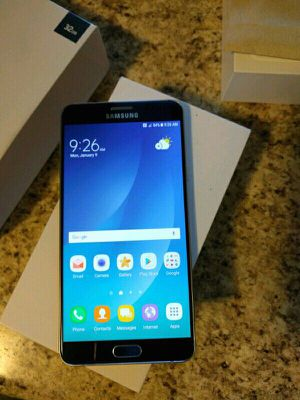 Galaxy NOTE 5 Unlocked with a 30 Day WARRANTY! Check-out profile for prices of other phones like Galaxy S7 Edge S8 S8+ Note 5 and iPhones. PLEASE REA for Sale in Los Angeles, CA
