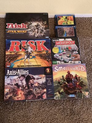 Games and Puzzles, Light Use or New for Sale in Mesa, AZ