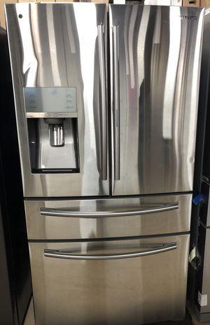 Stainless steel 4 door French door refrigerator for Sale in Maryville, TN