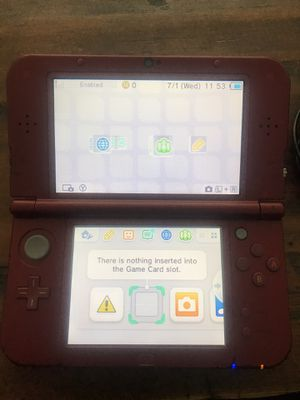 Nintendo 3ds xl w/ charger and 2 games for Sale in West Jordan, UT
