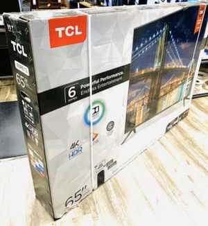 """65"""" TCL ROKU TV 4K UHD HDR SMART TV for Sale in Colton, CA"""