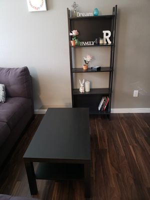 Coffee table and bookcases for sale for Sale in Houston, TX