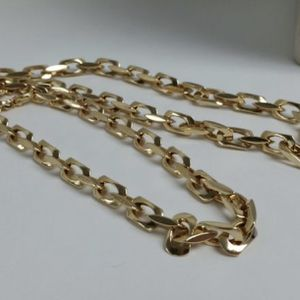 """14k Solid Gold Chain Necklace Mens 28"""", 76 grams, 7mm Wide for Sale in Los Angeles, CA"""