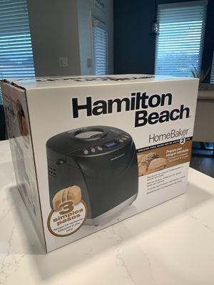 Bread Maker -Hamilton Beach for Sale in Katy, TX