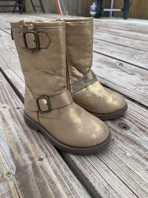 Baby girl boots size 6 (new) for Sale in Coral Gables, FL