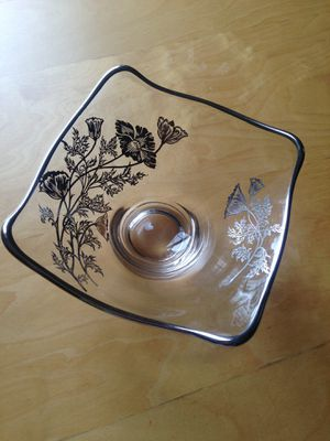 Silver overlay candy dish for Sale in Washington, DC