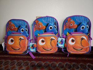 Disney Girls' Finding Dory School backpacks with lunch box for Sale in Kent, WA